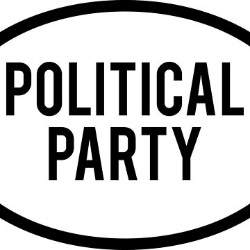 Generic Political Party Sticker by BrobocopPrime