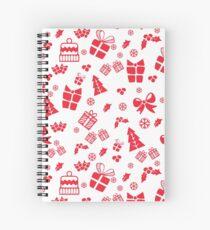 Holidays Pattern ◕‿◕ Spiral Notebook