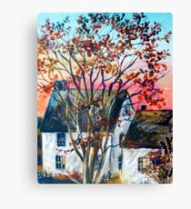 Home in The Country Canvas Print