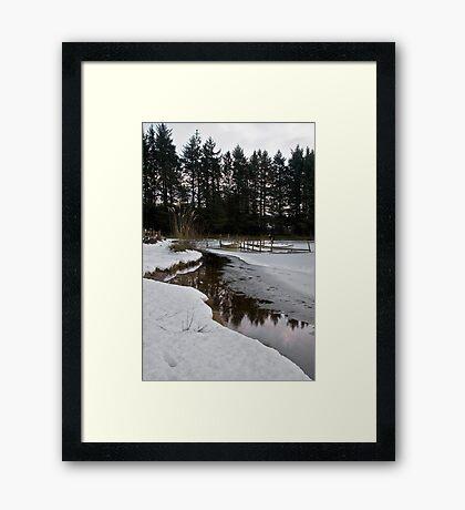 Morton Fishery - Kirknewton Framed Print