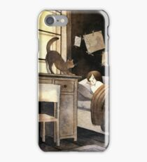Autumn mornings iPhone Case/Skin