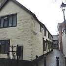 Church Lane Cottages. by Lilian Marshall