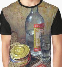 #GlassBottle #stilllife #food #drink #wine #wood #glass #restaurant #refreshment #bottle #table #container #vertical #nopeople #alcohol, still life, food, drink, wine, wood, glass, restaurant, bottle Graphic T-Shirt