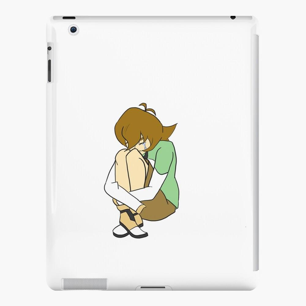 Trauriger Pidge - Voltron iPad-Hüllen & Klebefolien