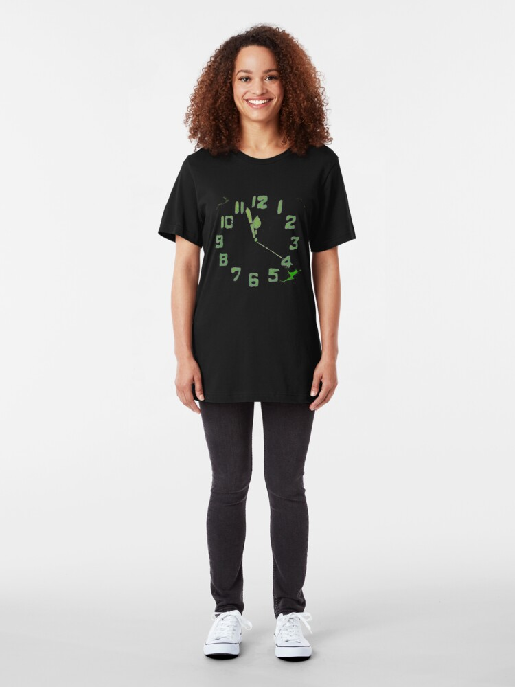Alternate view of Now With More Radium! Slim Fit T-Shirt