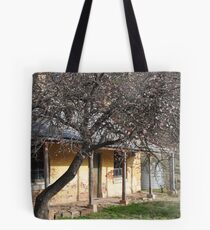 Old town house in old Hartley Villiage Tote Bag