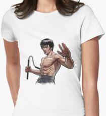 Bruce Lee Tailliertes T-Shirt für Frauen