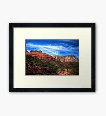 Sedona Scenic Framed Print