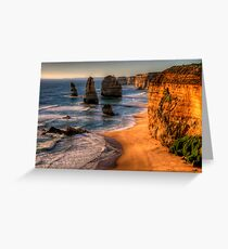 Icons - The Twelve Apostles, The Great Ocean Road - The HDR Experience Greeting Card