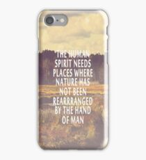 The Human Spirit iPhone Case/Skin