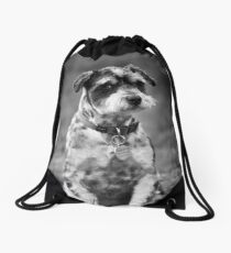Scruffy the Dog Drawstring Bag