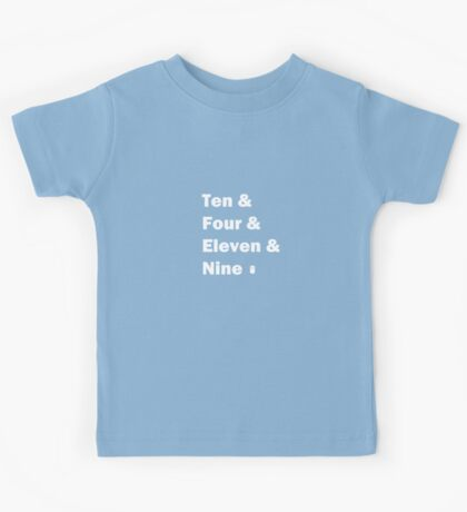 Ten and ... White Kids Clothes