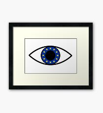 The Eye of the EU (Article 13 shirt) Framed Print