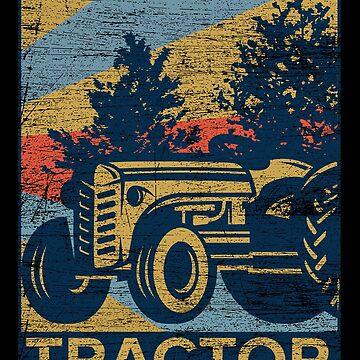 Tractor farm by GeschenkIdee
