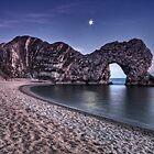 Moonlight Over Durdle Door by Jonathan Stacey