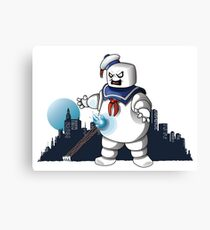 Ghostbusters -  I love this town! Canvas Print