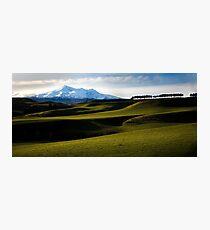 Mt Ruapehu Photographic Print