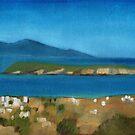 Paros Plain Air by Kostas Koutsoukanidis