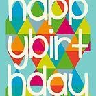 Happy Birthday - Colourful by Emma Holmes