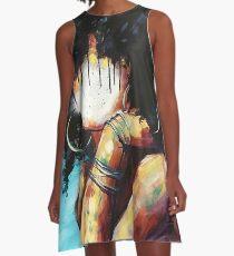 black girl A-Line Dress