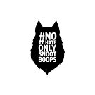 Nohateonlysnootboops - wolfhead by wolfenoot