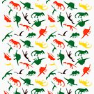 DINOSAUR Fossil Graphic Design Icon by VIDDAtees