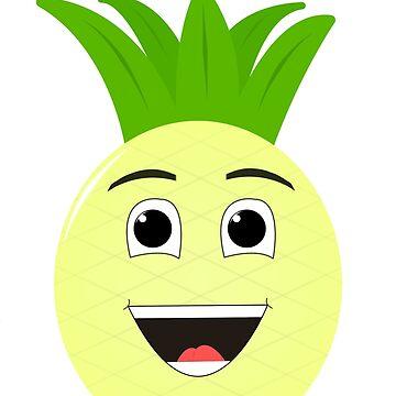 Happy Pineapple by Andersen0409