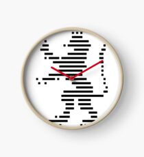 Heraldic Panther Clock