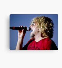 Belting Out a Love Song Canvas Print