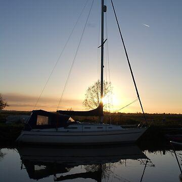 Heybridge Basin Yacht by newbeltane