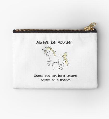 Always Be Yourself - Unicorn Studio Pouch