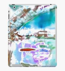 Cape Cod Traffic Jam Abstract Art iPad Case/Skin