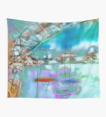 Cape Cod Traffic Jam Abstract Art Wall Tapestry