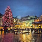 Covent Garden Christmas by Ludwig Wagner