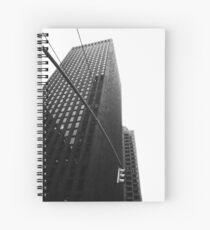 Monolithic building Spiral Notebook