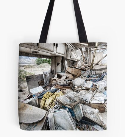 Living High in Cabazon Tote Bag