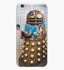 Gold Dalek wears Jodie Whittaker's Scarf in Doctor Who iPhone Case