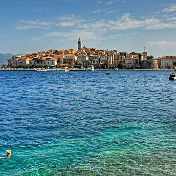 Swimming in Korčula by tomg