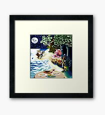 They dined on mince.... Framed Print