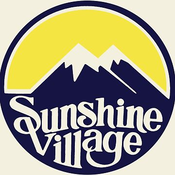 Sunshine Village Banff Vintage Ski Lake Louise by hilda74