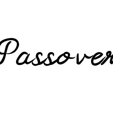 Passover by FTML