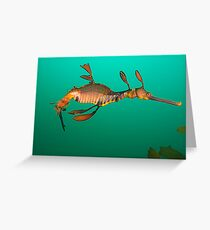Bicheno Dragon Greeting Card