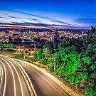 spokane washington downtown by ALEX GRICHENKO