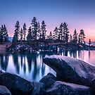 lake tahoe sunset by ALEX GRICHENKO