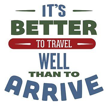 Travel - Travel better than arrive by Skullz23