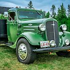 1936 Chevrolet stake bed truck by kenmo