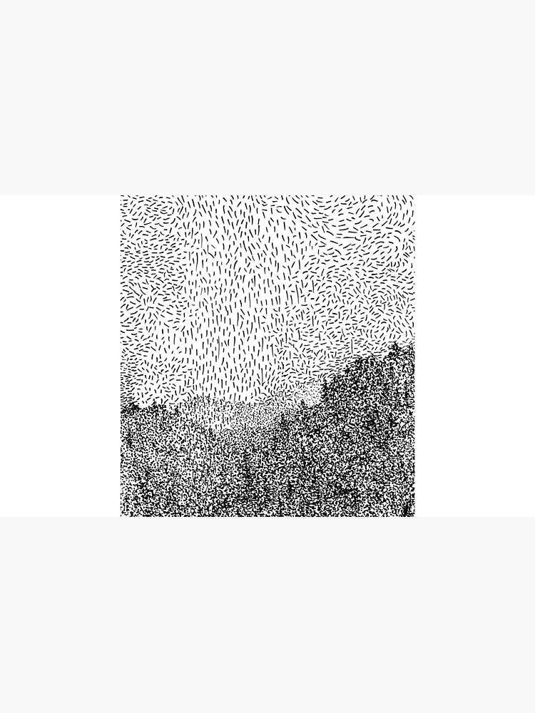 Black Hills - Winter (linke Seite) von noctilucart