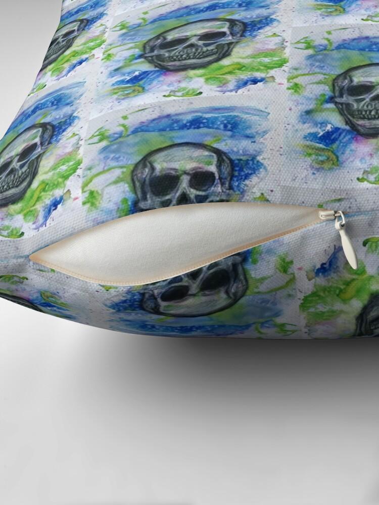 Alternate view of Colour Skull Floor Pillow