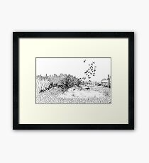 Nisqually Wildlife Refuge  Framed Print
