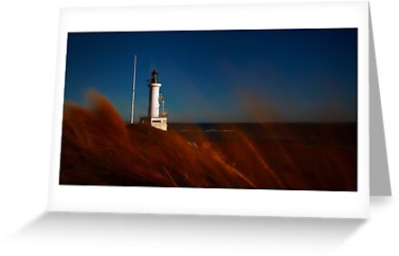Pt Lonsdale Lighthouse view by Margaret Metcalfe